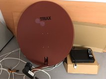 AFN Receiver and Dish in Stuttgart, GE
