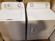 2016 Amana Washer & Dryer with 5 month transferable warrenty in Fort Riley, Kansas