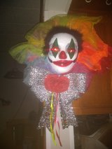 Medium light up clown wreath in San Antonio, Texas