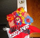 Party clown wreath in San Antonio, Texas