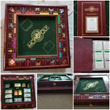 Franklin mint monopoly hardwood game need to sell asap to help friend in Fort Leonard Wood, Missouri
