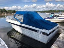 1987 Penn Yan 23 ft with cabin sport fishing boat in Fort Drum, New York