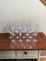 MIKASA UPTOWN FLUTED CHAMPAGNE GLASSES in Lockport, Illinois