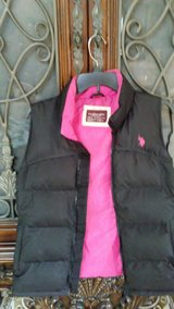 U.S. Polo Assn Vest/ Size Medium/Black and Pink in Fort Lewis, Washington