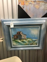 House on the sand Painting Framed in Camp Lejeune, North Carolina
