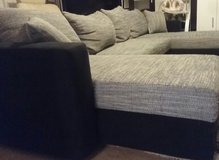U-shaped Couch with bed function and storage in Ramstein, Germany