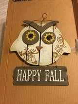 Fall plaque ,happy fall in Alamogordo, New Mexico