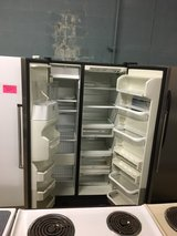 Stainless Steel Kitchenaid Side by Side Fridge in Camp Lejeune, North Carolina