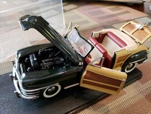 1:24 Franklin mint '48 Chrysler convertible in Travis AFB, California