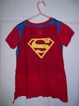 SUPERMAN TSHIRT WITH CAPE in Cherry Point, North Carolina