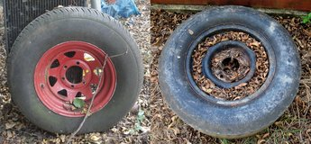 Old Tires For DIY Yard Garden Art Landscaping Planters Toys Furniture Sculptures Playground in Byron, Georgia