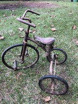 Antique tricycle in Moody AFB, Georgia
