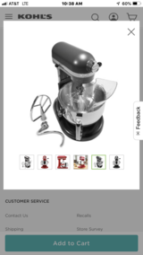 Kitchen aid Pro 600 STAND MIXER in Fort Polk, Louisiana