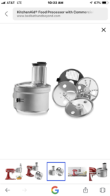 Kitchen aid Food Processor in Fort Polk, Louisiana