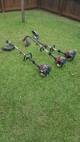 3 Troy Bilt 4 Cycle Trimmer Weed Eater Edger in Camp Lejeune, North Carolina