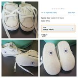 Infant Converse size 1 in Fort Irwin, California