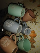 6 coffee cups and stand. in Leesville, Louisiana