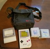 Original Game Boy with accessories in Fort Riley, Kansas