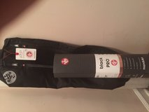 manduka black pro yoga mat with matching mat carrier in Orland Park, Illinois