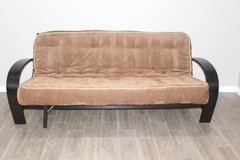 Futon with mattress included in Spring, Texas