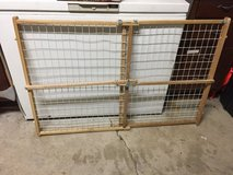 Expandable Wooden child baby gate in Oswego, Illinois