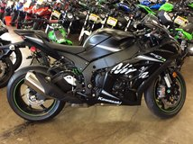 NEW 2018 KAWASAKI NINJA ZX10 RR IN BLACK in Fort Lewis, Washington