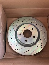 Brembo drilled rear rotors for 2004 Infinti G35 coupe 6MT (35630) in Fort Lewis, Washington