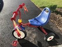 Radio flyer tricycle in St. Charles, Illinois