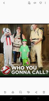 Ghostbusters costumes in Byron, Georgia