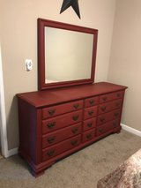antique dresser w/mirror & nightstand in Fairfield, California