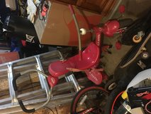 Radio flyer tricycle in Fort Campbell, Kentucky