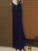 Keyhole Front Royal Blue Ball Gown in Camp Lejeune, North Carolina