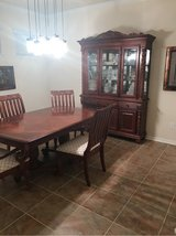 Dining Room Table and Hutch in Kingwood, Texas