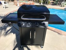 Brand New ..CHAR-BROIL 4 BURNER GAS GRILL - ALL BLACK Top Quality Bbq Yard Garden Patio in Oceanside, California