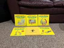 6 Curious George Paperback Books in Sandwich, Illinois