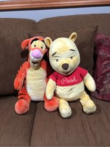 stuffed animals pooh and tigger in Sandwich, Illinois