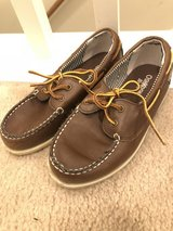 Boys brown shoes.  Size 12 in Batavia, Illinois