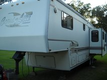 Camper in Coldspring, Texas