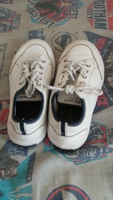 Boys size 1 y sperry shoes in Camp Lejeune, North Carolina