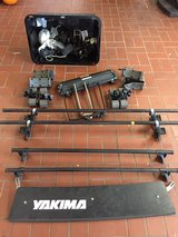 Yakima rack and accessories in Ramstein, Germany