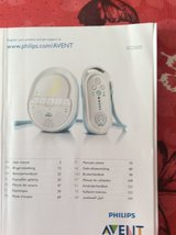 Phillips AVENT  SCD 505 Baby Monitor 100 - 240 V usable in Ramstein, Germany