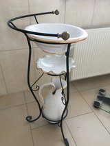 Wash stand in Ramstein, Germany