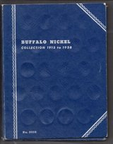 VINTAGE WHITMAN COIN ALBUM FOLDER #9008 for Buffalo Nickels - 1913-1938 in Stuttgart, GE