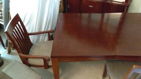 Dinning Room Table 8 piece in Wilmington, North Carolina