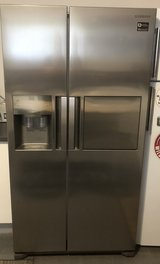 220v Samsung side by side fridge freezer with water and ice dispenser in Ramstein, Germany