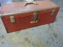 CRAFTSMAN Vintage Toolbox  mid-century (crown era) Chest style with Tray in DeKalb, Illinois