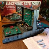 electronic battleship game 1977 in Tinley Park, Illinois