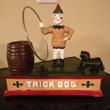 cast iron toy bank dog in Tinley Park, Illinois