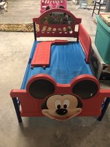 Mickey Mouse toddler bed in Baytown, Texas