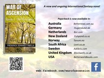 War of Ascension fantasy novel series in Guam, GU